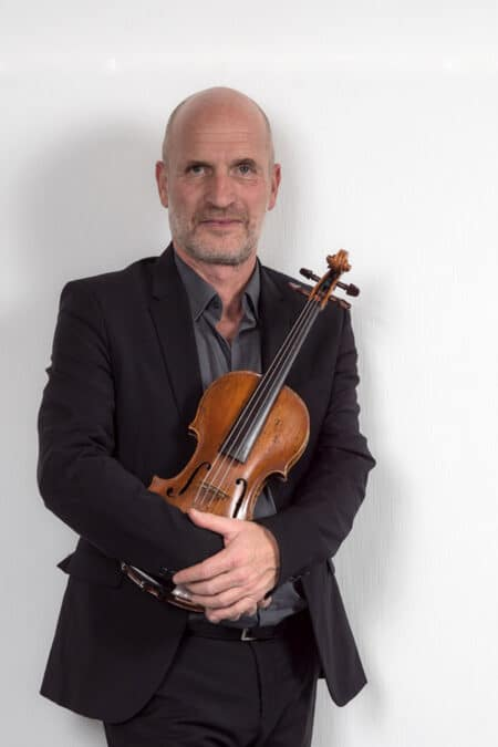 Gilles Colliard avec violon